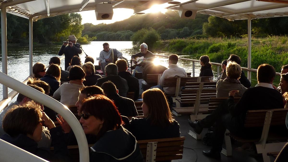 Croisière concert en Loire
